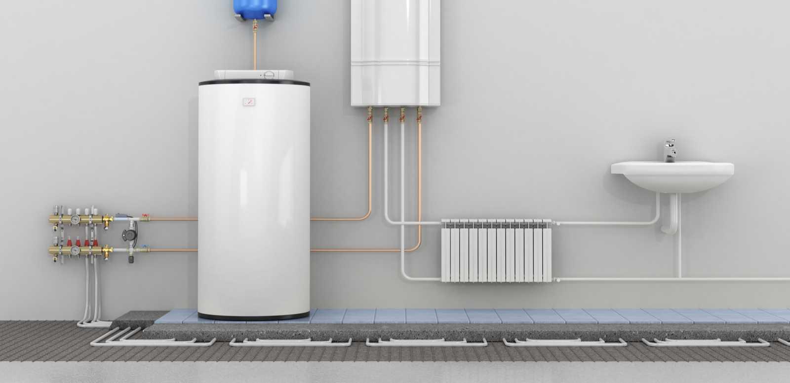 Installationéintérieure-des-appareils-de-chauffage-air-eau
